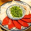 煮こみ - 料理写真:刺身盛(ハツ刺、血管刺)