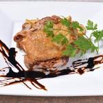 アボ アートボックスカフェ - 但馬鶏の香草焼き~自家製バルサミコソース~
