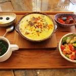 モニカ&アドリアーノ - ゴロゴロ野菜のドリア