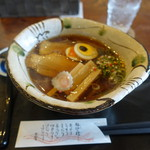 """たまゆら - 料理写真:""""甘露醤油麺""""750円"""