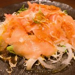 蕎麦和食はたり - 鶏生ハムのカルパッチョ風 980円