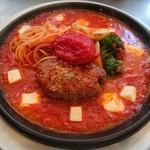 完熟トマトとモッツァレラチーズ