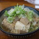 89372695 - 煮込み豆腐