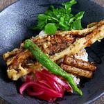 ◆トラウトサーモンの西京味噌焼きとお揚げの柚子胡椒クリームドリア◆