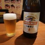 89373206 - 瓶ビール(キリン一番搾り)