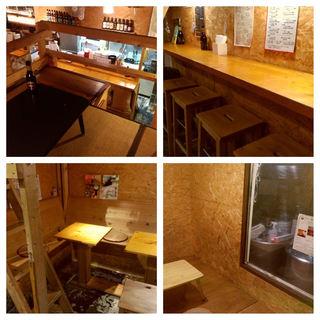 【魅惑の客席】立飲み、テーブル、小上がり、ロフト