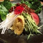 中国薬膳料理 星福 - 炸醤(ジャージャー)冷麺