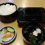 志津可 - 蒲焼定食特上2370円(税込)