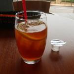 RIZ CAFE - アイスティー(レモン)