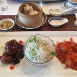 ホテルオークラレストラン新宿 中国料理 桃里 - ベストバランスランチ 黒酢酢豚&大海老チリソース煮