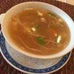 ホテルオークラレストラン新宿 中国料理 桃里 - ベストバランスランチ スープ