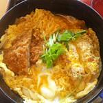 夢庵 - 料理写真:カツ丼と小冷やしうどんセット949円(税別)