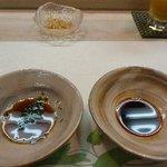 夢膳 - 料理写真:お刺身は「醤油」「ポン酢」「レモン塩」で頂きます。