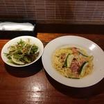 Kaito Bal - ベーコンとズッキーニのペペロンチーノスパゲティ1,000円