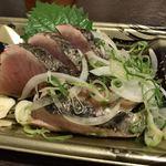 珍味堂 - カツオのタタキ(\800)