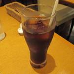 壁の穴 - アイスコーヒー