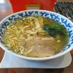 ラーメン・カフェ マルタケ - しおラーメン(700円)