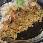 麺屋えいじ - ピリ辛特製チャーハン小