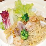 SUNROADKitchen西明石店 - ベトナム風海鮮ビーフン アジアンフェア 単品800円(税込)