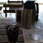 89389076 - 食後にアイスコーヒーを・・・。