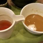 狐狸丸 - 特濃つけ麺のスープ割り