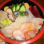 河庄 - 料理写真:梅ちらし
