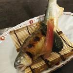 和しょくや Standing 佳肴 - 鮎の塩焼き