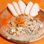 ナンバー5! つぶ貝の香草バター焼き