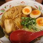 ラーメン武藤製麺所 - 醤油ラーメン&味玉  大盛