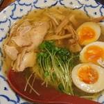 ラーメン武藤製麺所 - 鶏の塩ラーメン&味玉