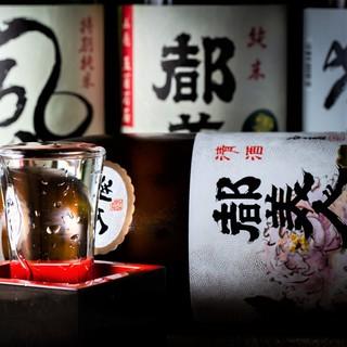 淡路島の日本酒や焼酎、地ビールも豊富にご用意しております!