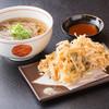 aduma - 料理写真:瀬田の新名物「しじみかき揚げそば」を一度ご賞味ください!(900円)