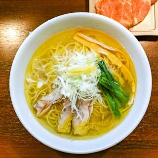 麺の風 祥気 - 料理写真:「しおそば」(2018.07)
