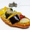 ミドリマツベーカリー - 料理写真:夏野菜のブルスケッタ