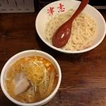 らーめん 津志 - 辛味噌つけ麺