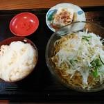 台湾料理 美味仙 - 料理写真:「サラダ冷麺セット」