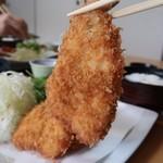 漣 - 料理写真:海老フライ定食2484円税込