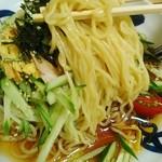 Asakusa Ramen Yoroiya - パツンパツンに冷えた麺!