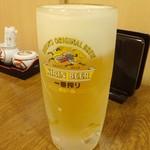 和創・割烹 源 - ドリンク写真:生ビール中