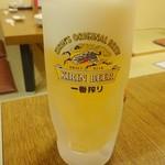 和創・割烹 源 - 生ビール中(二杯目)