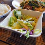 小肥羊 - レバニラ炒め