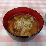 仲乃茶屋 - 料理写真:きのこ汁~☆