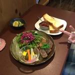 ジャム cafe 可鈴 - 7月5日(木)~7月9日(月)の週替わりランチ(1,050円)