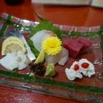 旬菜旬魚 煌 - お造り盛り合わせ
