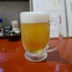 旬菜旬魚 煌 - 生ビール