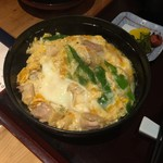 地鶏料理 味千両 - 親子丼関西風