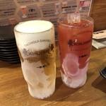 立喰酒場 金獅子 - 生ビールとトマトチューハイ♪