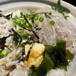 海ぼうず - しらす丼定食