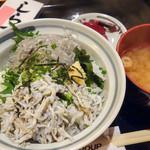 海ぼうず - 料理写真:しらす丼定食