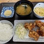 チキンハウス - 【2018/7】からあげ定食